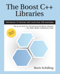 Cover of The Boost C++ Libraries second edition, linked to larger image
