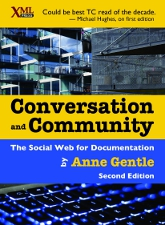 Cover of Conversation and Community 2nd Edition, linked to larger image