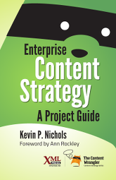Cover of Enterprise Content Strategy, linked to Amazon.com