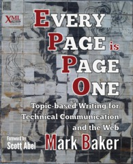 Cover of Every Page is Page One, linked to larger image
