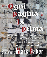 Cover of Every Page is Page One Italian edition