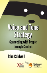 Front cover of Voice and Tone Strategy