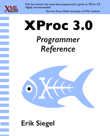 Cover of XProc 3.0